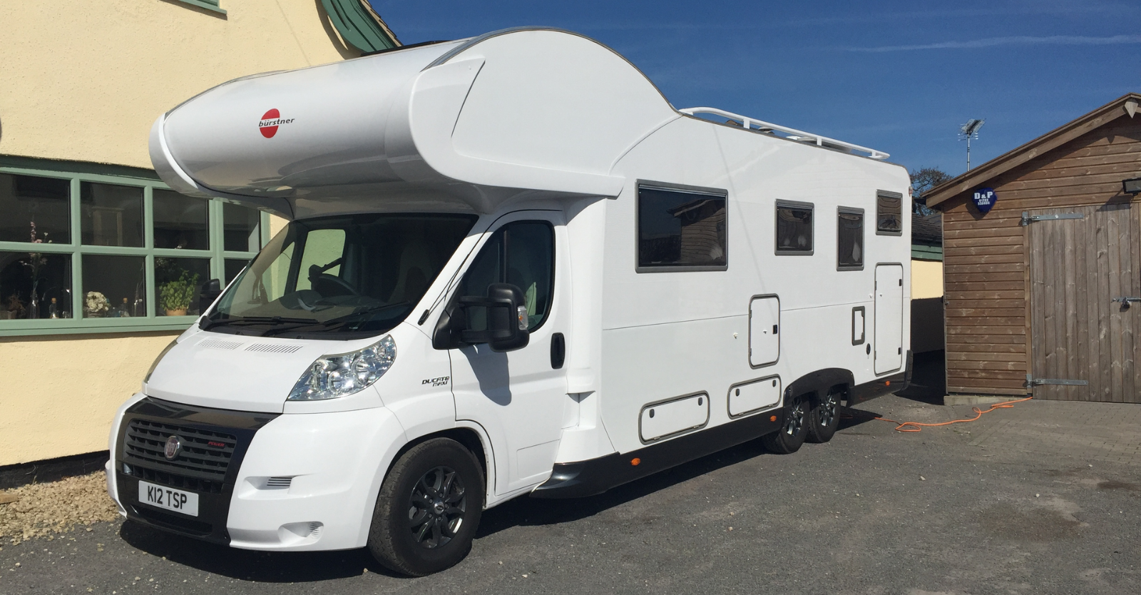 Motorhome hire, Staffordshire