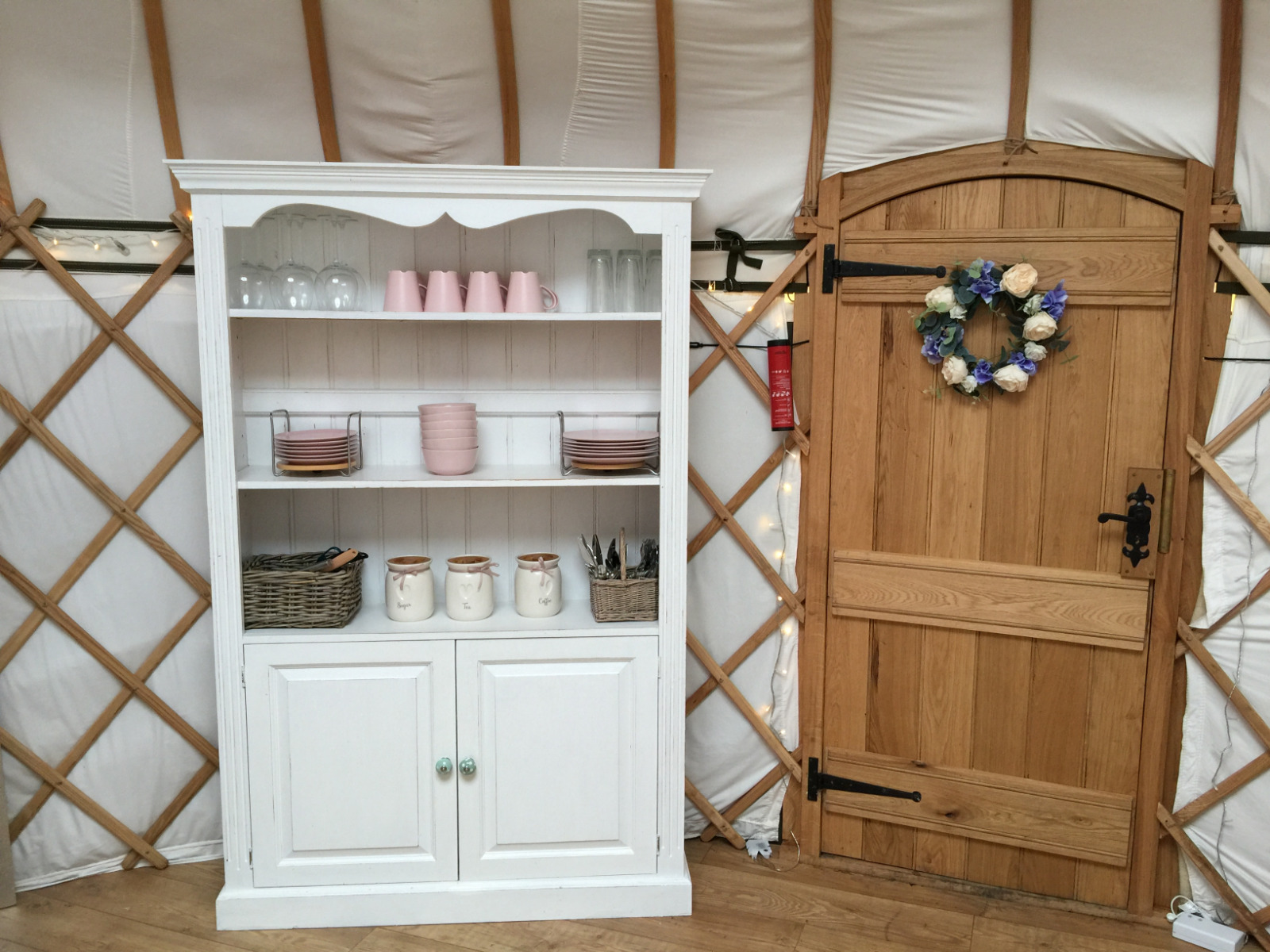 Potter's Lodge cupboard